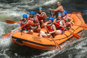 Maine whitewater rafting and loding packages –Moosehead lake